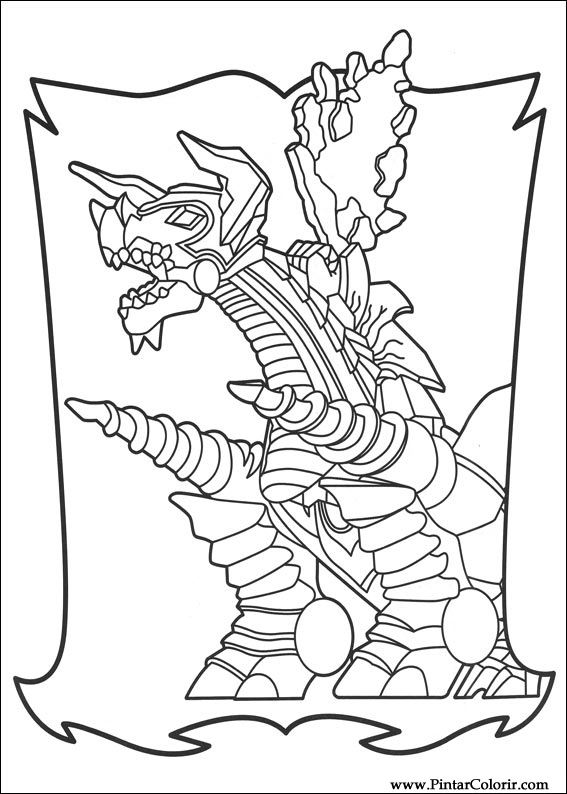 Desenhos Para Pintar e Colorir Power Rangers - Imprimir