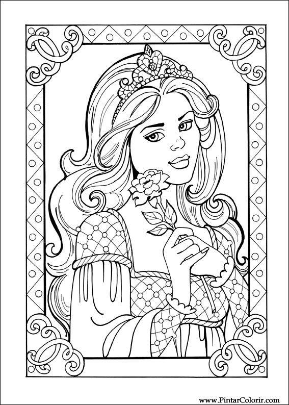princess leonora coloring pages - dessins de peindre et couleur princesse leonora imprimer