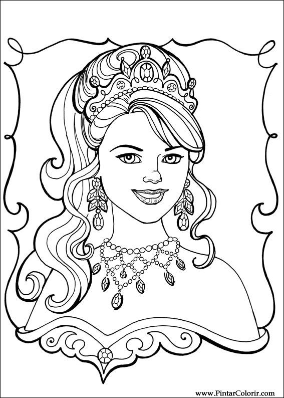 princess leonora coloring pages - drawings to paint colour princess leonora print design 010