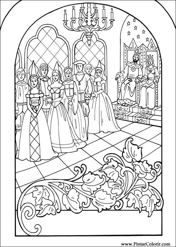 Kleurplaat Nachtwacht Ketnet Tekeningen Te Schilderen Amp Kleur Prinses Leonora Print