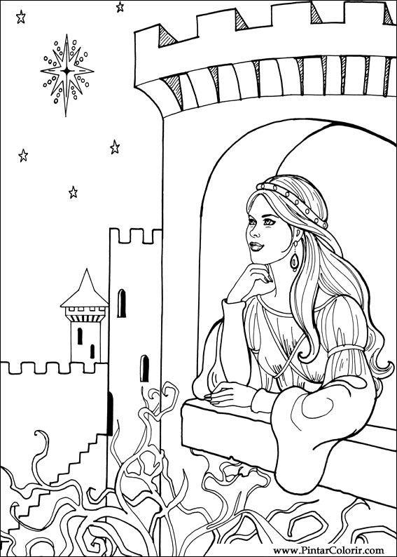 Χρώματα &; χρώμα princess leonora - σχέδιο 015