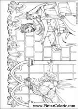 Pintar e Colorir Princesa Leonora - Desenho 003