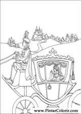 Pintar e Colorir Princesa Leonora - Desenho 009
