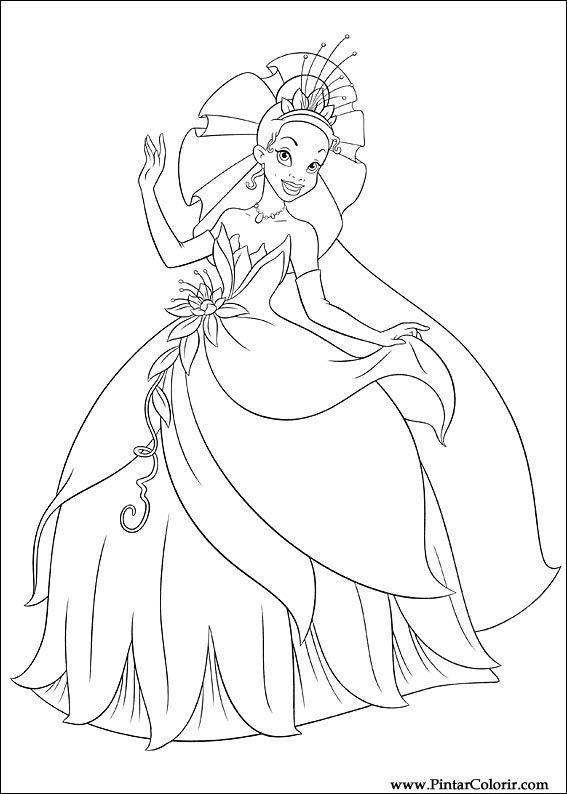 199 Izimler Boya Ve Renk Prenses Kurbağa I 231 In Baskı Tasarım 005