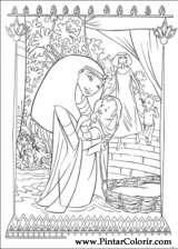 Pintar e Colorir Principe Egito - Desenho 002