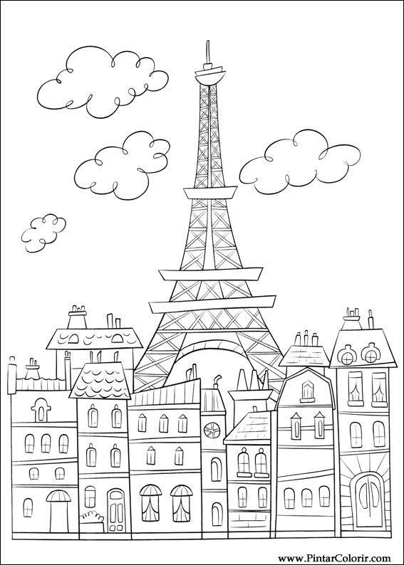 Dibujos para pintar y color ratatouille dise o de - Disenos para pintar ...