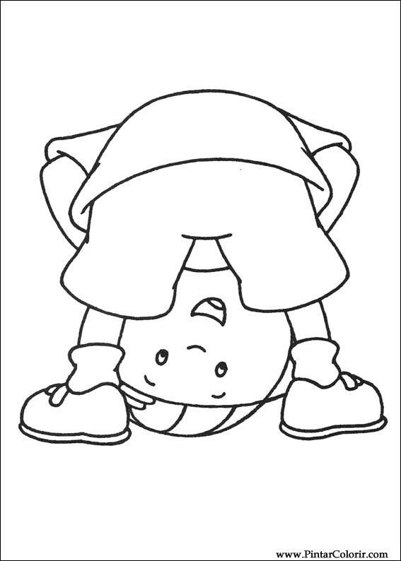 Desenhos Para Pintar e Colorir Ruca - Imprimir Desenho 025