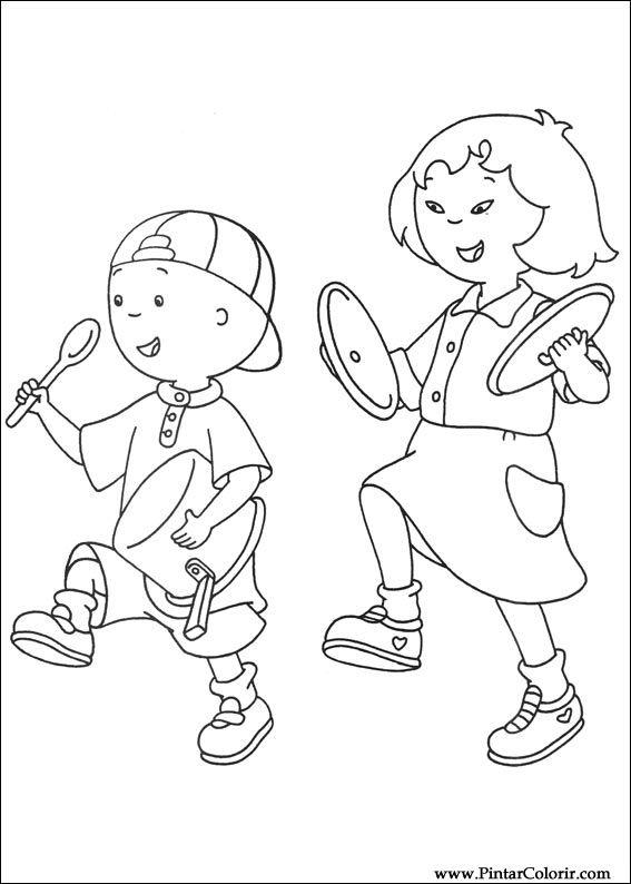 Desenhos Para Pintar E Colorir Ruca Imprimir Desenho 042
