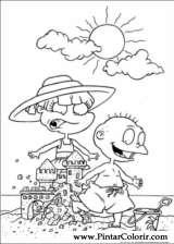 Pintar e Colorir Rugrats - Desenho 013