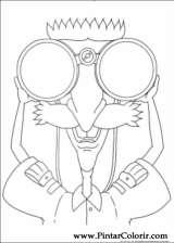 Pintar e Colorir Rugrats - Desenho 021