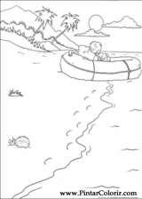 Pintar e Colorir Rugrats - Desenho 022