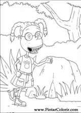 Pintar e Colorir Rugrats - Desenho 025