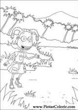 Pintar e Colorir Rugrats - Desenho 026