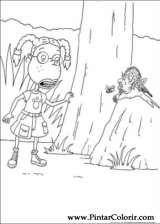 Pintar e Colorir Rugrats - Desenho 039