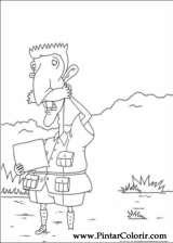 Pintar e Colorir Rugrats - Desenho 043