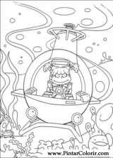 Pintar e Colorir Rugrats - Desenho 081