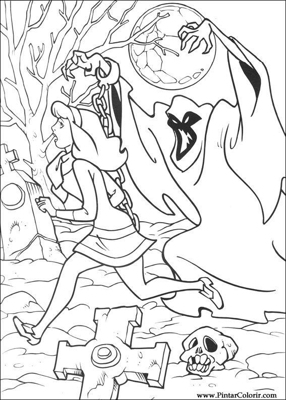 paint colour scooby doo 012 design - Scooby Doo Pictures To Colour