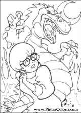 Pintar e Colorir Scooby Doo - Desenho 004
