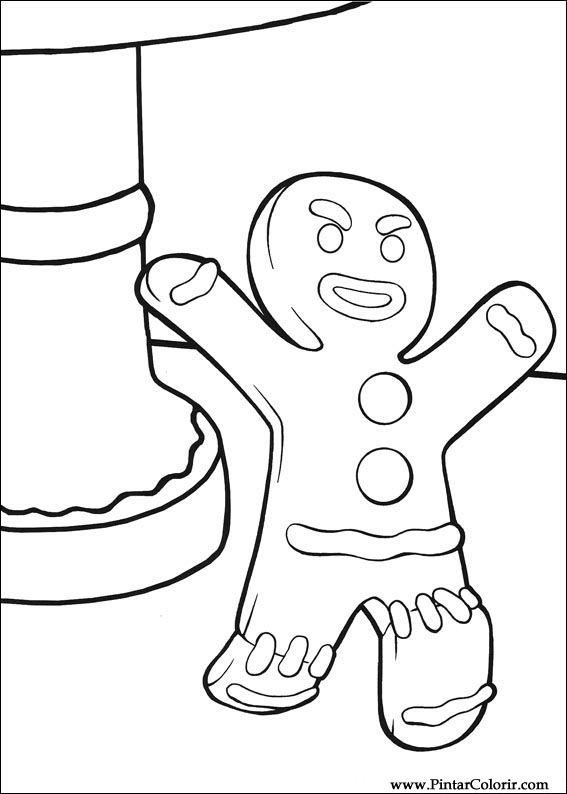 Disegni Di Dipingere E Di Colore Shrek Terzo