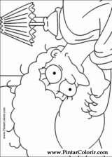 Pintar e Colorir Simpsons - Desenho 005