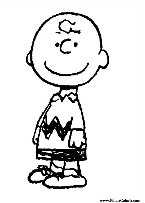 035 for Charlie brown thanksgiving coloring pages to print