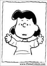 Pintar e Colorir Snoopy - Desenho 001