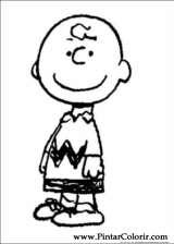 Pintar e Colorir Snoopy - Desenho 035