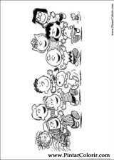 Pintar e Colorir Snoopy - Desenho 036