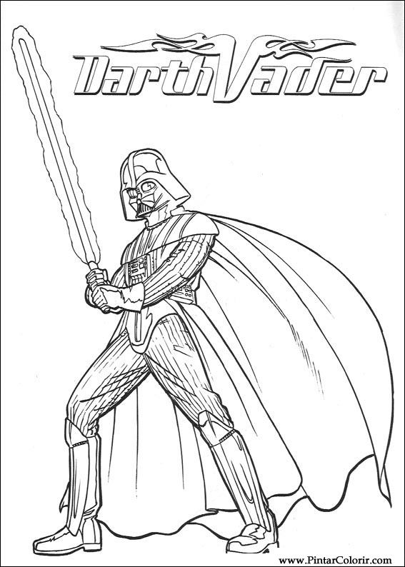 paint colour star wars drawing 085