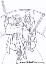 Pintar e Colorir Star Wars - Desenho 002