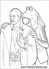 Pintar e Colorir Star Wars - Desenho 006