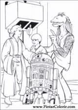 Pintar e Colorir Star Wars - Desenho 052