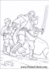 Pintar e Colorir Star Wars - Desenho 067