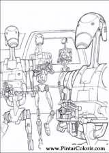 Pintar e Colorir Star Wars - Desenho 069