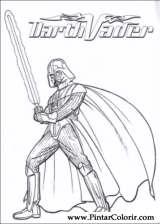 Pintar e Colorir Star Wars - Desenho 085