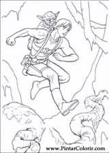 Pintar e Colorir Star Wars - Desenho 093