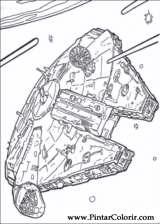 Pintar e Colorir Star Wars - Desenho 099