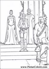 Pintar e Colorir Star Wars - Desenho 103