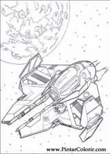 Pintar e Colorir Star Wars - Desenho 129