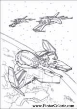 Pintar e Colorir Star Wars - Desenho 136
