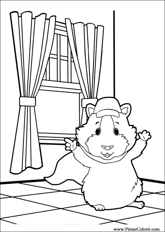 wonder pets christmas coloring pages - photo#29