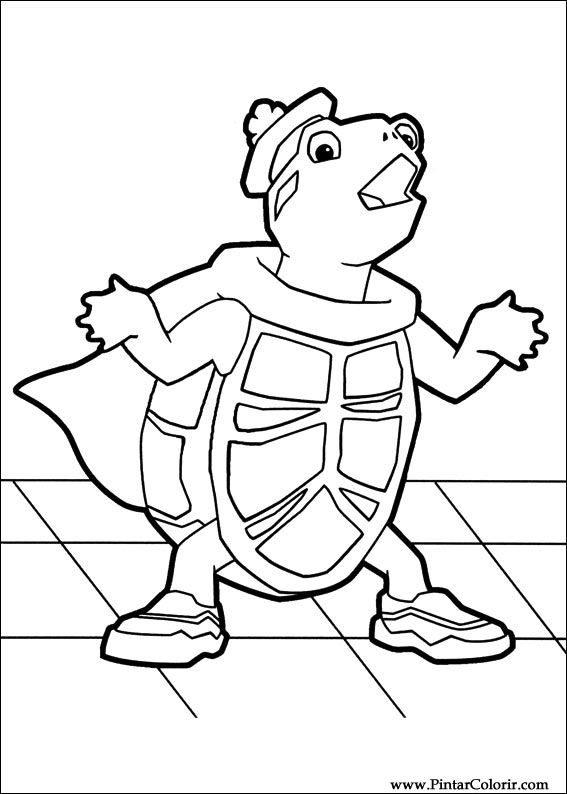 ming ming coloring pages - drawings to paint colour wonder pets print design 026