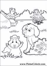 Pintar e Colorir Super Fofos - Desenho 006