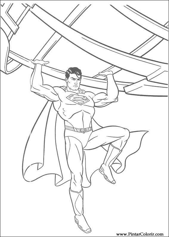印刷 エクスプローラ 印刷 : ペイント&カラースーパーマン ...