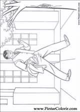 Pintar e Colorir Super Homem - Desenho 004
