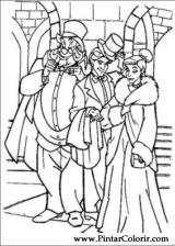 Pintar e Colorir Anastasia - Desenho 006