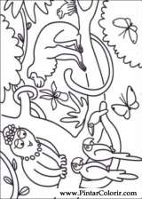 Pintar e Colorir Barbapapa - Desenho 004