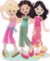 Desenhos Groovy Girls