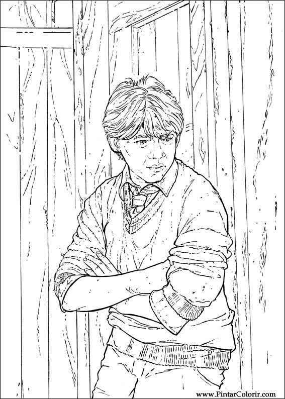 Image Result For Harry Potter Coloring Pages
