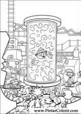 Pintar e Colorir Kids Next Door - Desenho 069